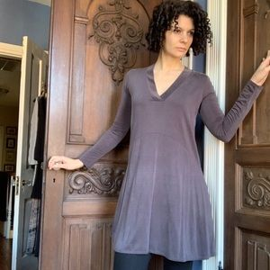 Anthroplogie Gray Dress